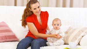 A che età puoi iniziare a sederti un bambino?