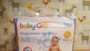 Typen en functies van Baby Go-luiers