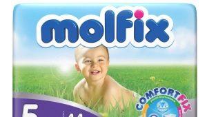 Výber plienok Molfix