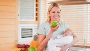 Apa yang boleh anda makan selepas melahirkan?