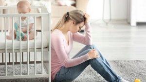 Bagaimana kemurungan selepas bersalin? Tanda-tanda utama dan gejala pertama