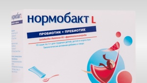 Normobact L untuk kanak-kanak: arahan untuk digunakan