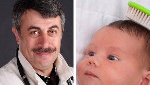 Dokter Komarovsky over hoe de korstjes op het hoofd van de baby te verwijderen