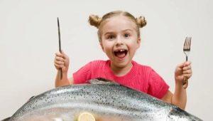 ما الأسماك جيدة للأطفال وكيفية طبخها؟