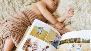 Enjoybook es un álbum de fotos hecho a mano de la familia con un diseño único.