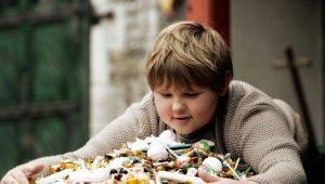 لماذا يأكل الطفل الكثير وماذا يفعل؟