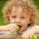 Vanaf welke leeftijd en wanneer kunt u een kind een komkommer geven?