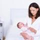 خافضات الحرارة لحديثي الولادة