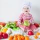 Menu kanak-kanak pada 9 bulan: asas diet dan prinsip pemakanan