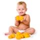 Op welke leeftijd kan je het kind een sinaasappel en sap geven?