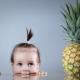 สับปะรดสามารถให้กับเด็กอายุเท่าใด