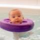 Círculo en el cuello para el baño de recién nacidos.