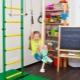 Muro sueco para niños en el apartamento: un complejo deportivo para cada niño.