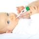 อุณหภูมิที่เกี่ยวข้องกับการงอกของฟันในเด็กคืออะไร?