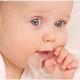 Gengive blu in un bambino