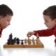 Детска подложка в шах