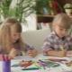 Scrivania per due bambini