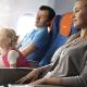 Peraturan untuk mengangkut kanak-kanak di pesawat dan barangan mereka