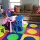 Lantai lembut untuk bilik kanak-kanak