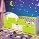 เตียงเด็กที่มีด้านข้างสำหรับเด็กอายุตั้งแต่ 3 ปี