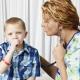 การรักษาอาการไอแห้งในการเยียวยาชาวบ้านเด็ก