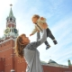 Zvyšok s deťmi v Moskve