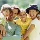 Sanatoria voor kinderen met ouders