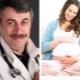 الدكتور كوماروفسكي عن الحمل والتخطيط لها
