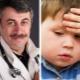 ดร. Komarovsky เกี่ยวกับสิ่งที่ต้องทำถ้าเด็กตีหัว