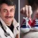 الدكتور كوماروفسكي حول كيفية اختيار الأحذية الأولى للطفل