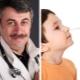 Dr. Komarovsky sull'istillazione di Albucid nel naso per i bambini