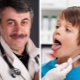Dokter Komarovsky over angina