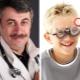 Dr. Komarovsky sull'astigmatismo nei bambini