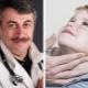 Dr. Komarovsky op vergrote lymfeklieren in de nek van een kind