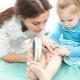 Trattamento di un'eruzione allergica nei bambini
