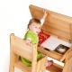 Sedie in legno per bambini: caratteristiche di scelta