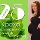 25 สัปดาห์ของการตั้งครรภ์จะเกิดอะไรขึ้นกับทารกในครรภ์และแม่ที่คาดหวัง