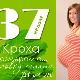 37 สัปดาห์ของการตั้งครรภ์จะเกิดอะไรขึ้นกับทารกในครรภ์และแม่ที่คาดหวัง