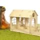 Pembina kayu untuk kanak-kanak: kebaikan dan keburukan