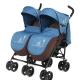 Roda kereta bayi untuk kembar: ulasan model dan petua memilih