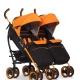 Kereta bayi untuk anak kembar: ulasan model dan petua memilih