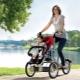 Bici con passeggino per mamma e bambino: caratteristiche e suggerimenti per la scelta