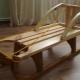 Sled kayu: jenis dan tips untuk membuat