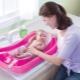 Scegliere un'amaca per fare il bagno ai neonati