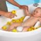 Een bad kiezen voor het baden van pasgeborenen