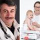 Doktor Komarovsky mengenai berat badan