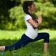 الجمباز للسيدات الحوامل في الأثلوث الثاني