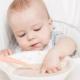Cereali senza latticini per la prima alimentazione