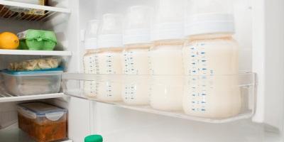 Conservazione del latte materno nel frigorifero