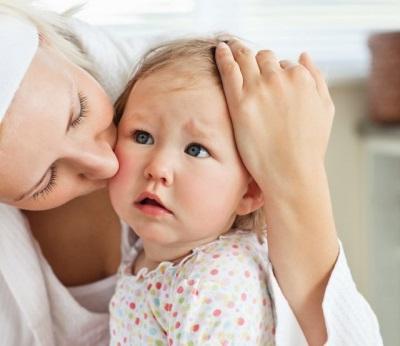 Baby met moeder - diarree